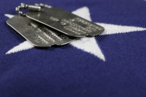 military and business dog tags