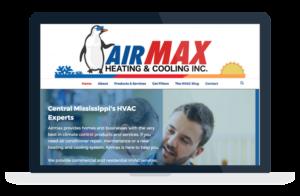 airmax website design and development flowood brandon jackson ms